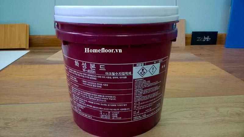 keo dán sàn chuyên dụng nhập khẩu Hàn Quốc  - Homefloor