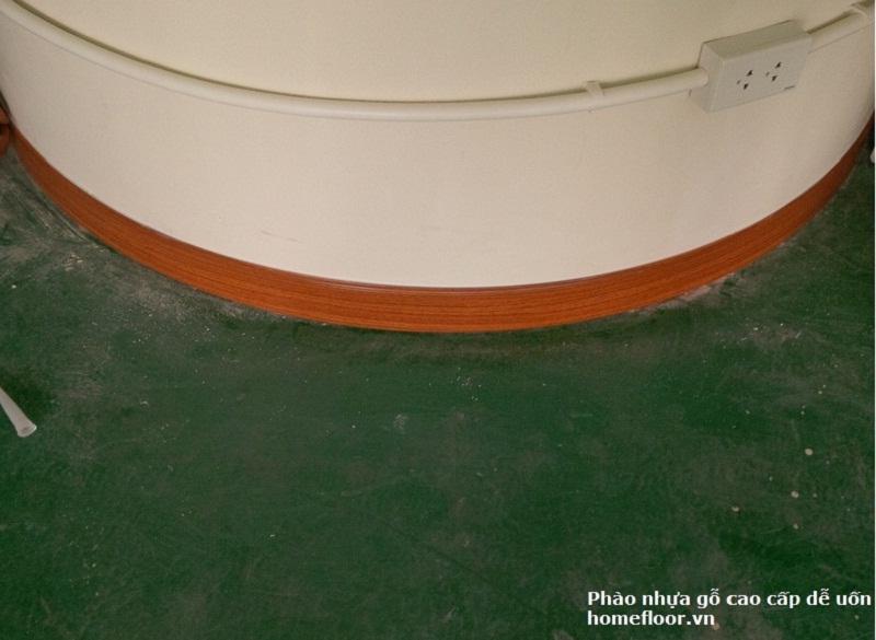 Phào nhựa gỗ cao cấp HF siêu bền