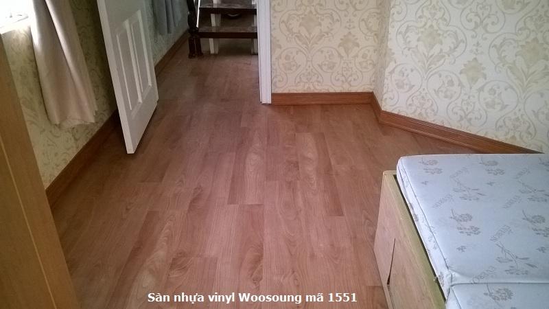 Sàn vinyl cao cấp giả gỗ 1551